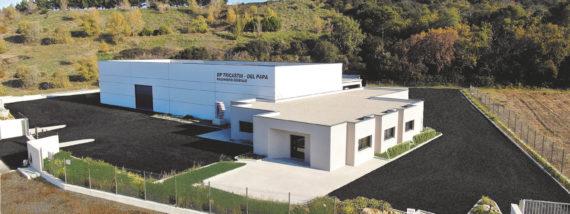 la SARL DP TRICASTIN – DEL PAPA s'installe dans le  nouveau Parc d'Activités Drôme Sud Provence